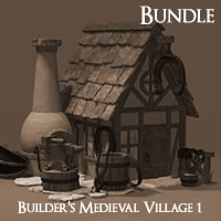 Builder's Medieval Village 1 Complete Edition