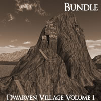 Dwarven Village Volume 1 R2