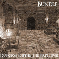 Dungeon Depths: The First Level