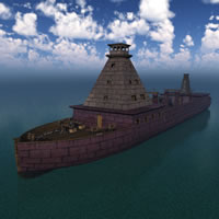 Dwarven War Ship R2