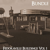 Fedoraville Buildings Volume 1 R2