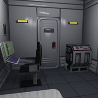 Generation Ship - Crew Quarters