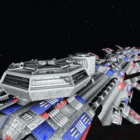 Generation Ship - Command Bridge