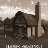 Halfling Village Volume 1 R2