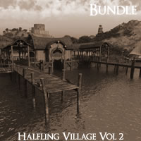 Halfling Village Volume 2 R2