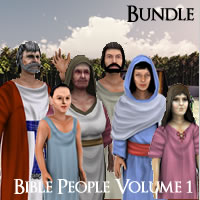 Bible People Volume 1 Complete Edition