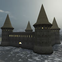 Medieval Ukraine Guardhouse
