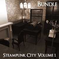 Steampunk City Volume 1