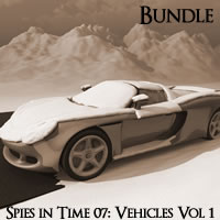 Spies in Time 2007 Vehicles Volume 1 R2