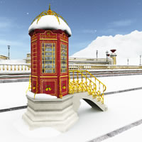 North Pole Telephone Booth