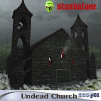 Undead Village Church (UDV1V104-3DS)