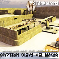 Olive Oil Maker and Merchant, Ancient Egypt