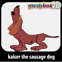 Kaiser the Sausage Dog