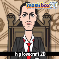 H P Lovecraft 2D for Anime Studio